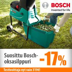 Suosittu Bosch-oksasilppuri -17%