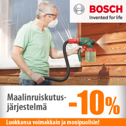 Bosch-maalinruiskutusjärjestelmä -10%