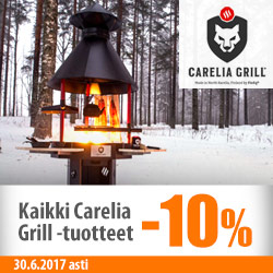 Carelia Grill -tuotteet -10%