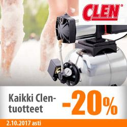 Kaikki Clen-tuotteet -20%