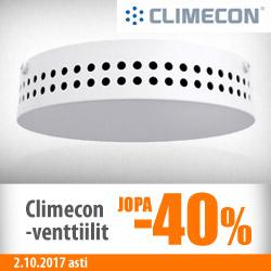 Climecon-venttiilit jopa -40%