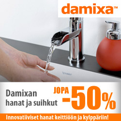 Damixan hanat ja suihkut jopa -50%