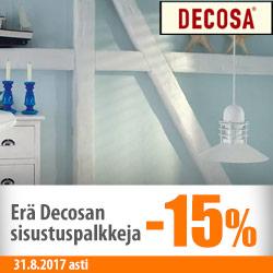 Decosan sisustuspaneeleita -15%