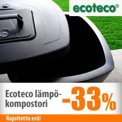 Ecoteco-lämpökompostori -33%