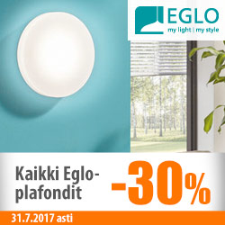 Eglo-plafondit -30%