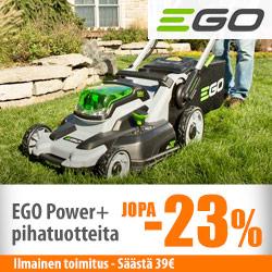 EGO Power+ pihakoneita jopa -23%