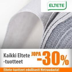 Kaikki Eltete-tuotteet jopa -30%