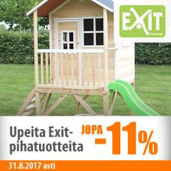 Exit-pihatuotteita jopa -11%