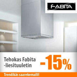 Tehokas Fabita-liesituuletin -15%
