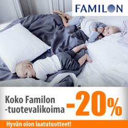 Koko Familon-tuotevalikoima -20%