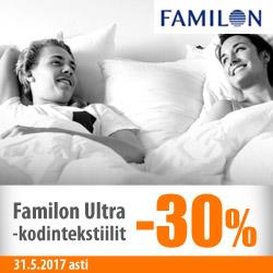 Familon Ultra-kodintekstiilit -30%