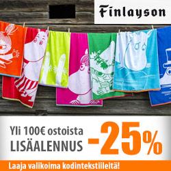 Finlayson LISÄALE -25%