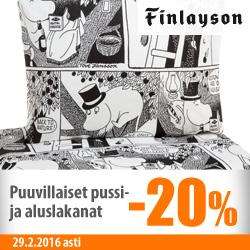 Finlaysonin pussi- ja aluslakanat -20%