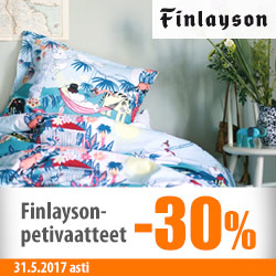Finlaysonin petivaatteet -30%