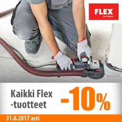 Kaikki Flex-tuotteet 10%