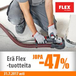 Erä Flex-tuotteita jopa -47%