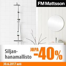 FM Mattssonin Silja-mallisto jopa -40%