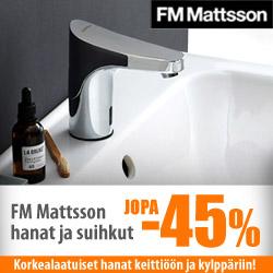 FM Mattsson hanat ja suihkut jopa -45%