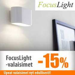 Focuslight-valaisimet -15%