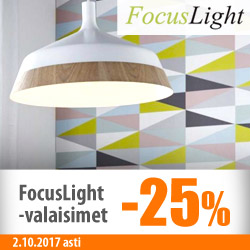Focuslight-valaisimet -30%