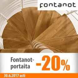 Fontanot-portaita -20%