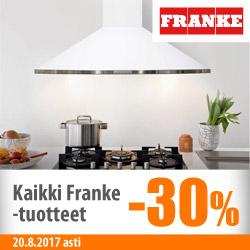 Kaikki Franke-tuotteet -30%