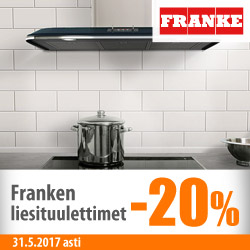 Franke-liesituulettimet -20%
