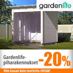 Gardenlife-piharakennukset -20%