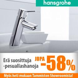 Erä Suosittuja Hansgrohen hanoja jopa -58%