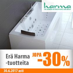 Erä Harma-tuotteita jopa -30%