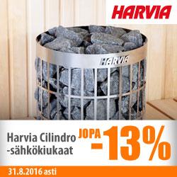 Harvia Cilnidro-sähkökiukaat jopa -13%