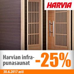 Harvian infrapunasaunat -25%