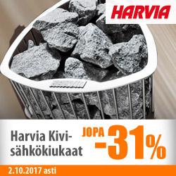 Harvia Kivi -sähkökiukaat jopa -31%