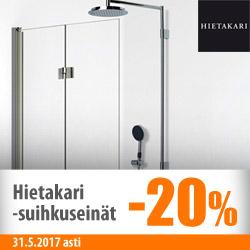 Hietakari-suihkuseinät -20%