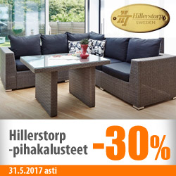 Hillerstorp-puutarhakalusteet -30%