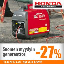 Suomen myydyin generaattori vain 1299€!