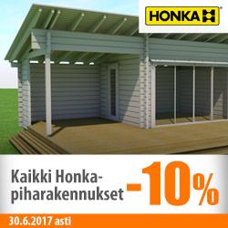Honka-piharakennukset -10%