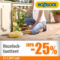 Hozelock-tuotteita jopa -25%