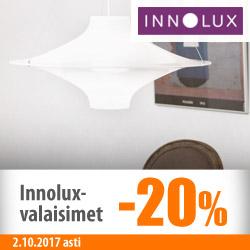 Kaikki Innolux-valaisimet -20%