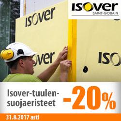 Isover-tuulensuojaeristeet -20%