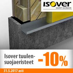 Isover-tuulensuojaeristeet -10%