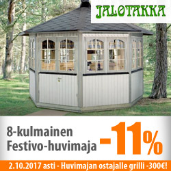 Jalotakka huvimaja Festivo -10% ja grilli -300€