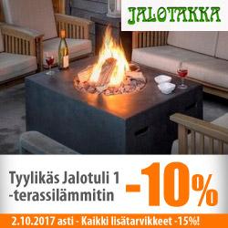 Jalotakka terassilämmitin Jalotuli 1 -10% + kaikki lisätarvikkeet -15%