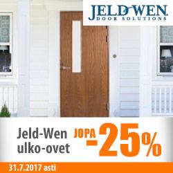 Jeld-Wen-ulko-ovet jopa -25%