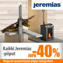 Kaikki Jeremias-piiput jopa -40%