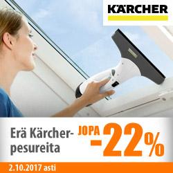 Erä Kärcher-pesureita jopa -22%