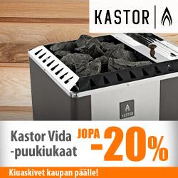 Kastor Vida -puukiukaat jopa -29%