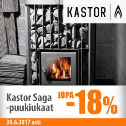 Kastor Saga -puukiukaat jopa -22%
