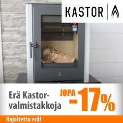 Kastor-valmistakkoja jopa -17%