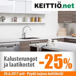 Keittiö.net kalusterungot ja laatikostot -25%